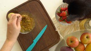 como fazer salada de frutas para a semana